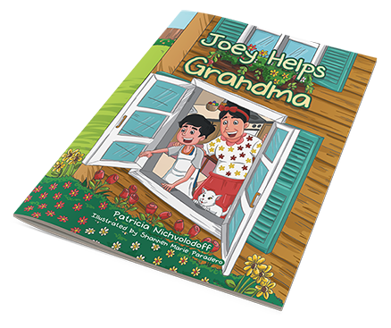 Grandma_bookflat